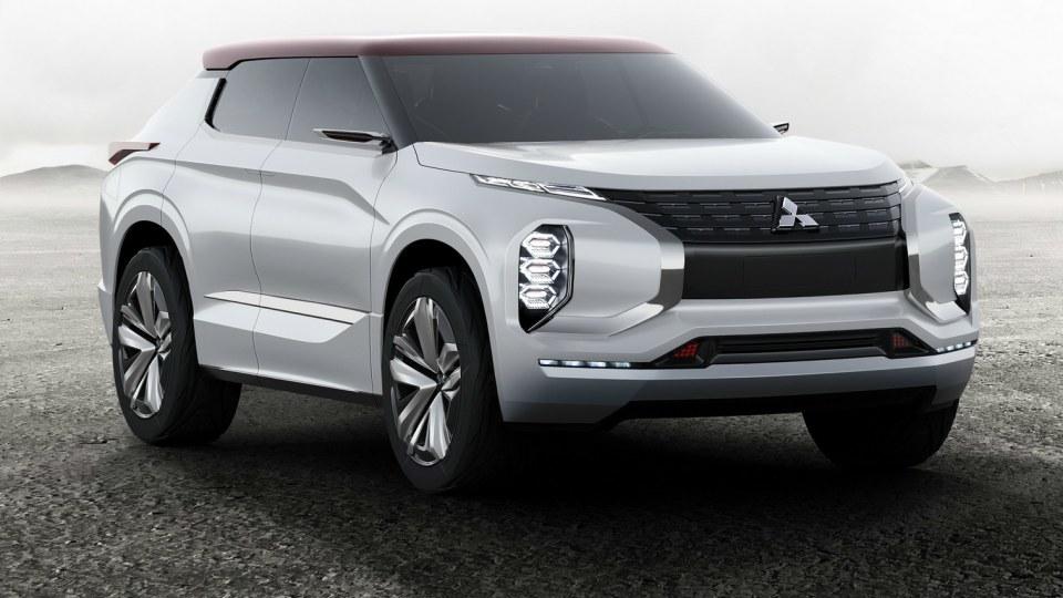 Paris Motor Show - Mitsubishi Outlines Future Plans With GT PHEV Concept