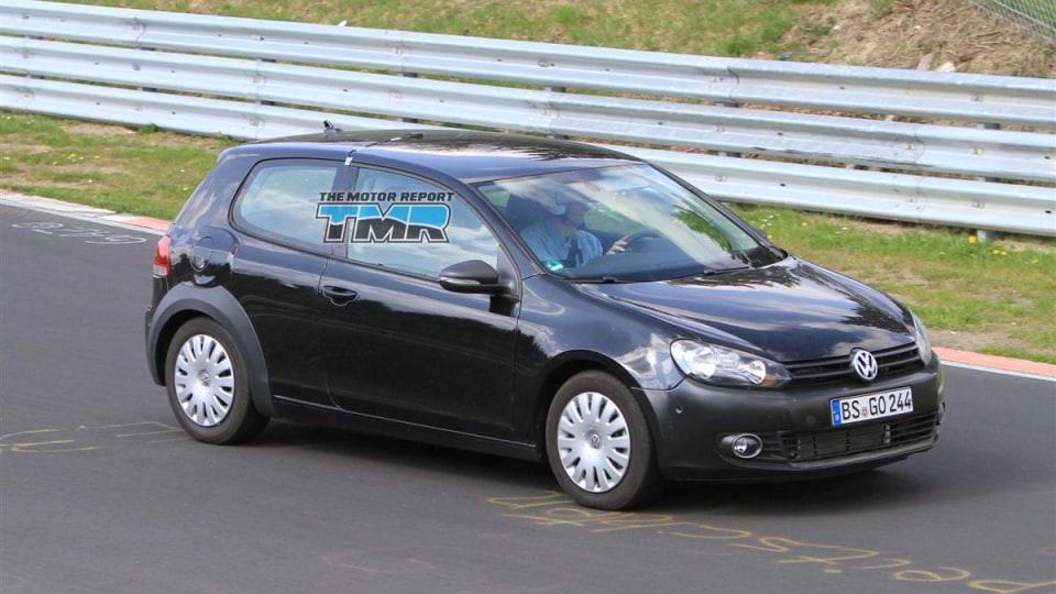 2012 Volkswagen Golf VII Spied In Development