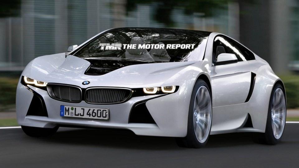 BMW Vision Efficient Dynamics Production Sports Car In Development: Report