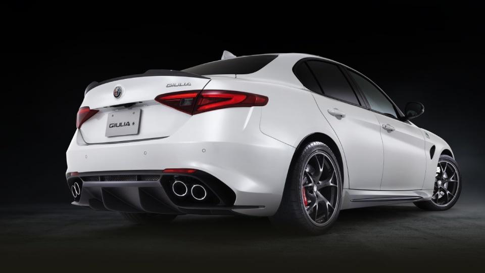Alfa Romeo reveals limited edition Giulia QV