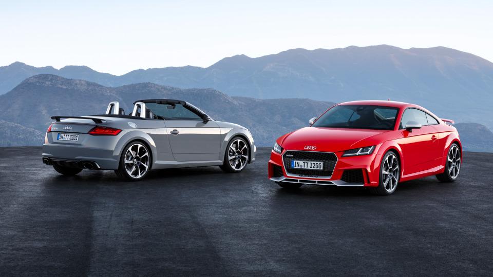 Audi TT RS.