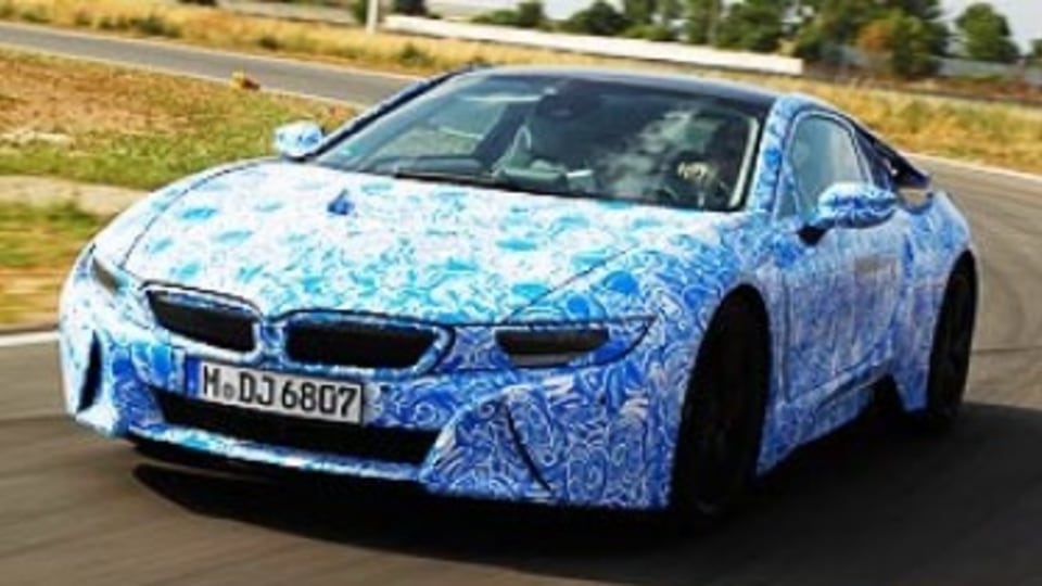 BMW i8: First drive review