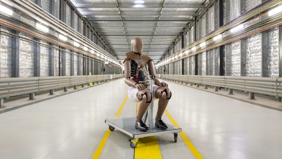 Welcome to the family: Australia gets new crash test dummy