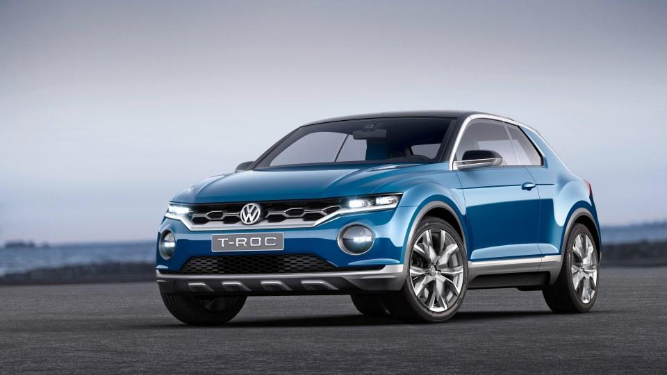 The Volkswagen T-Roc concept.