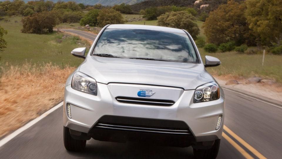 2013 Toyota RAV4 EV Revealed In Production Form, US Market Only