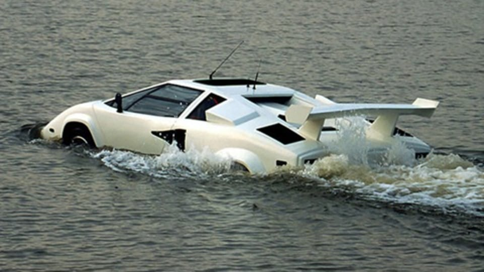 Thought For The Day: The World Needs More Amphibious Lamborghinis