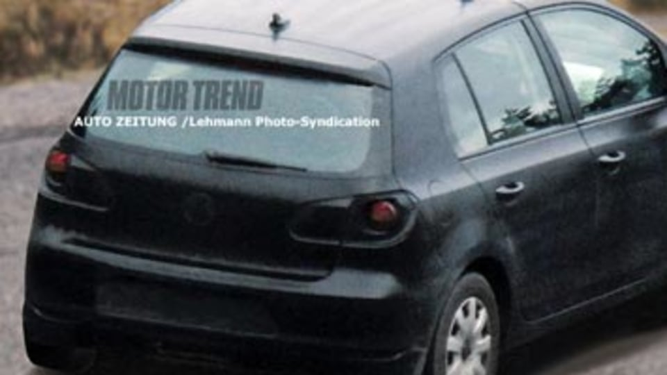 2009 VW Golf first spy photo