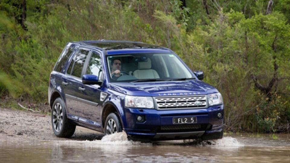 Land Rover's updated Freelander 2 SUV.