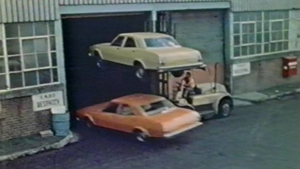 Inventive: Leyland's promo film The Carmakers veered dangerously close to insanity, but at least it was fun.
