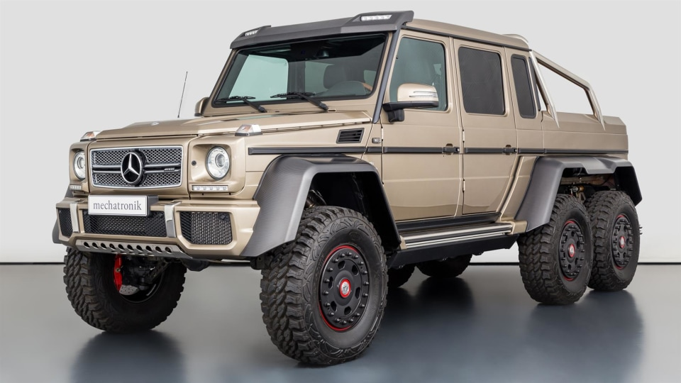 2015 Mercedes-Benz G63 AMG 6x6 set to sell for $1.3 million