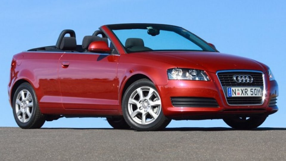 Best Convertible: 2008 Audi A3 Cabriolet 1.8 TFSI