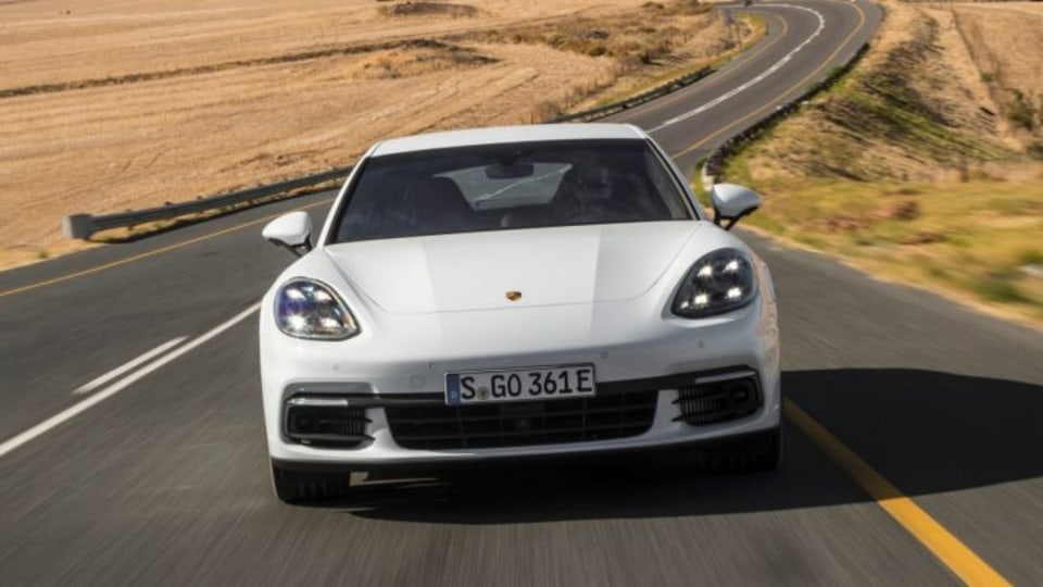 Porsche will add a V8 petrol-electric hybrid version of its Panamera sports sedan.