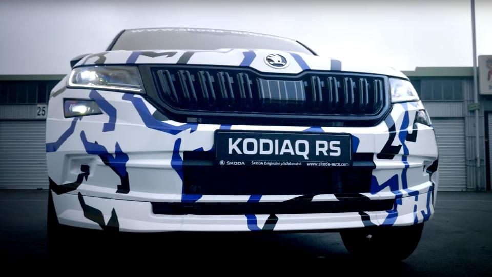 New Skoda Kodiaq RS teased