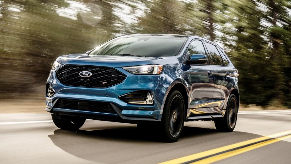 2018 Ford Edge ST.