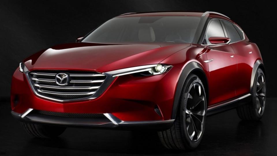 The Mazda Koreu concept showcases the brand's future SUV design.