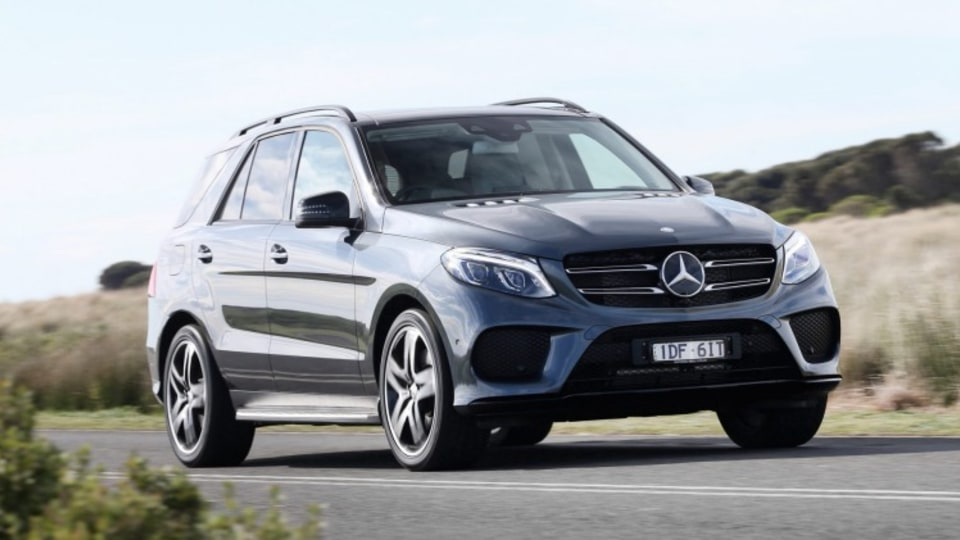 The Mercedes-Benz GLE 500.