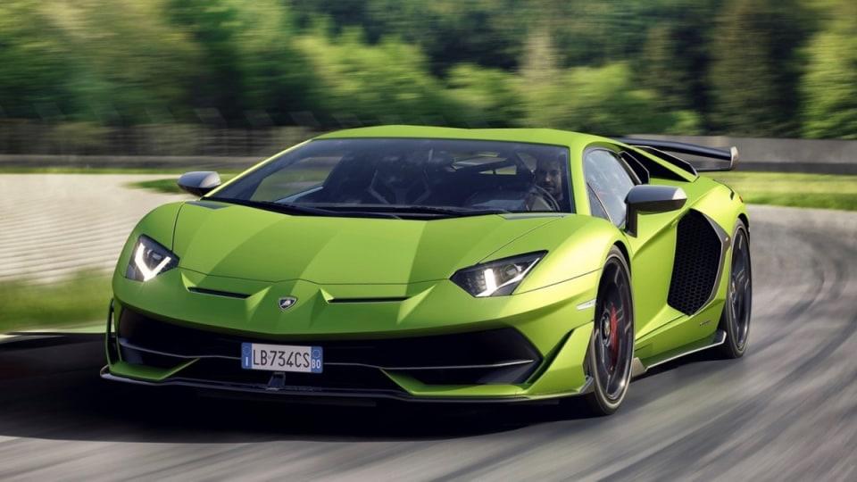 Lamborghini unveils Aventador SVJ