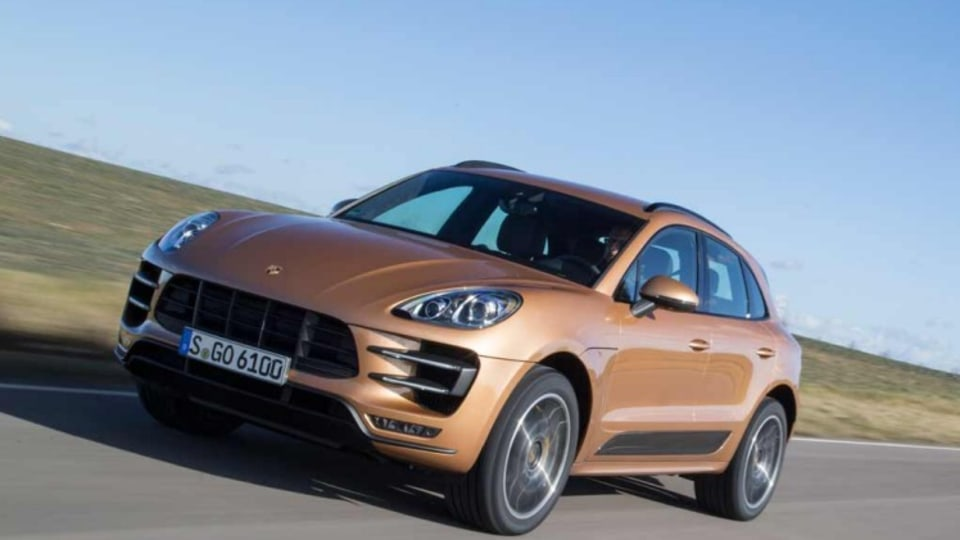 Porsche Macan Turbo.