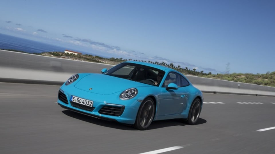 Porsche says the government collects around $45,000 in in tax from the sale of each 911 Carrera S.