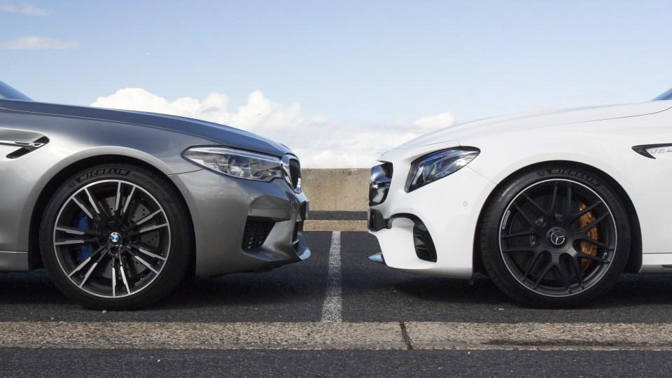 BMW M5 v Mercedes-AMG E63 S comparison review