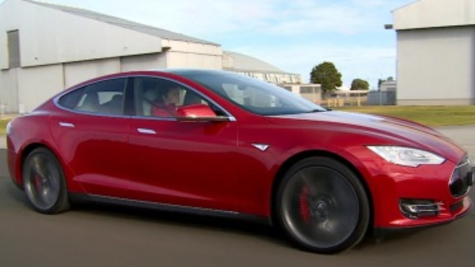 Tesla Model S dual motor first drive review