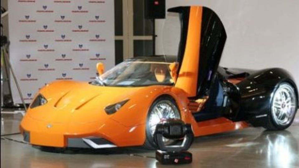 Marussia Hybrid Supercar Unveiled
