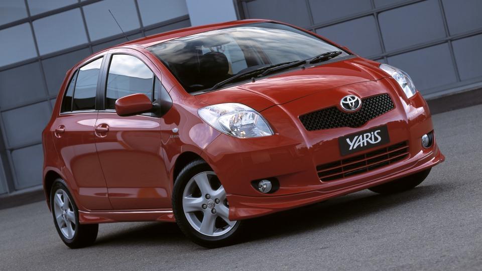 2005 Toyota Yaris.