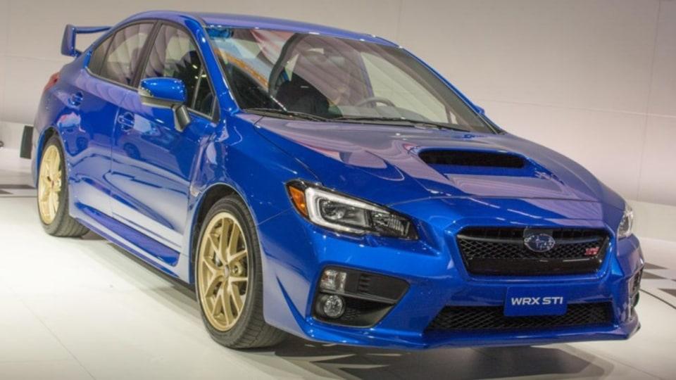 Subaru WRX STi.