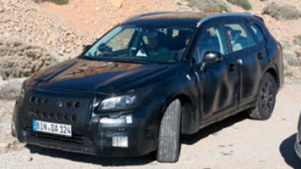 Subaru Liberty replacement on the way