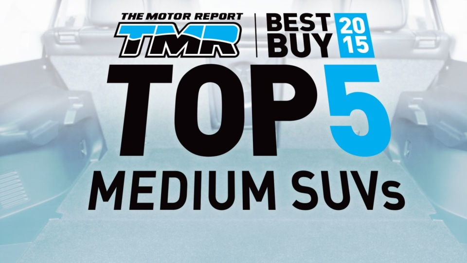 The 'TOP 5' Medium SUVs For 2015: X-Trail, Kuga, CR-V, CX-5, Forester
