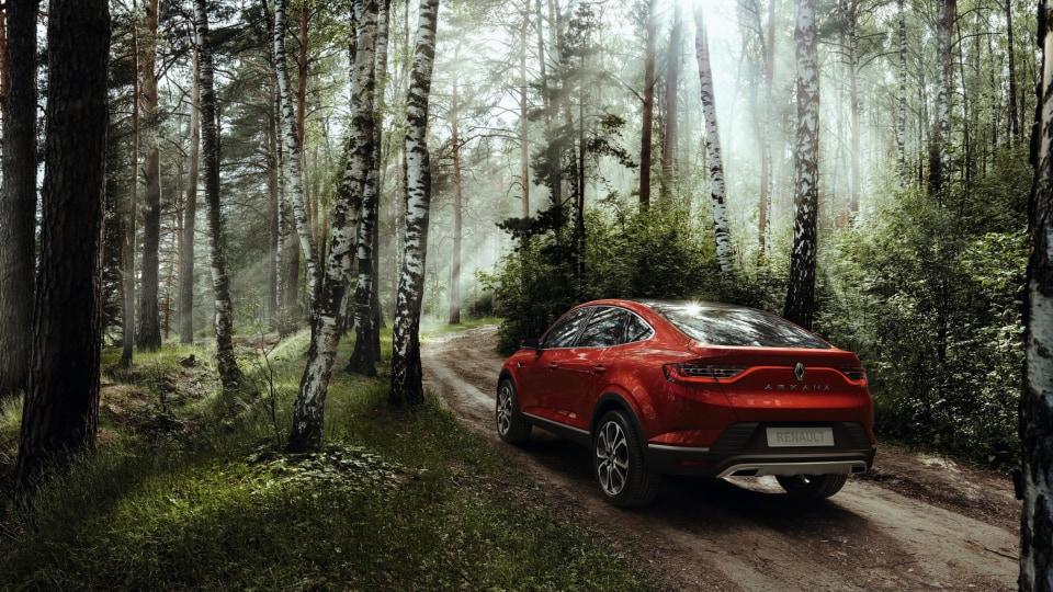 Renault unveils Arkana crossover