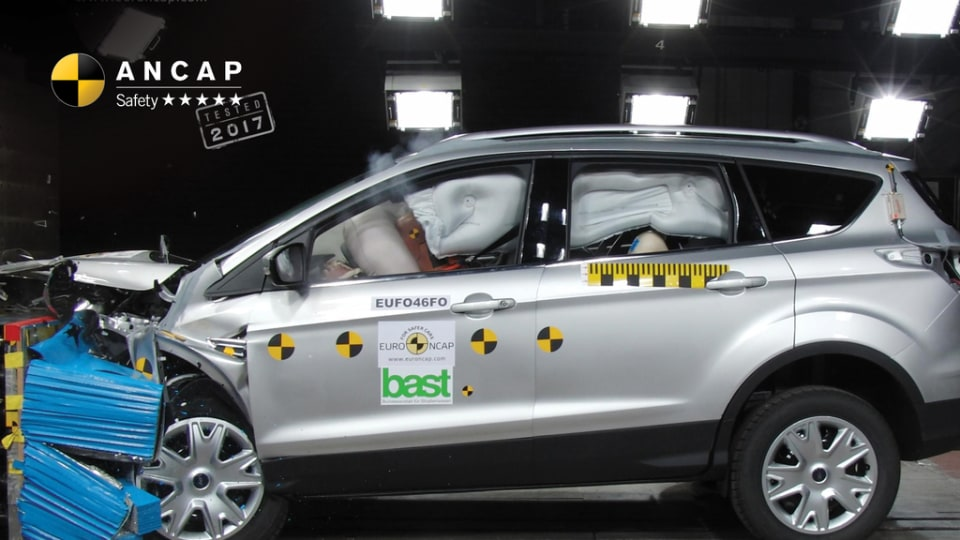 2017 Ford Escape Awarded ANCAP 5-Star Rating