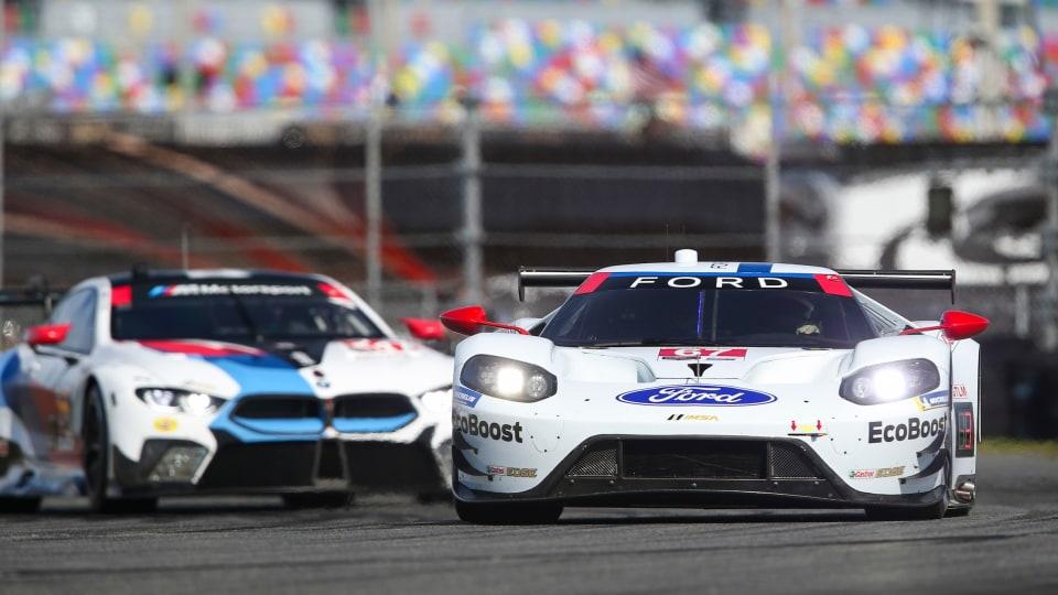 Motorsport: Aussies take on Daytona