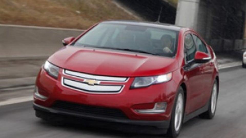 First drive: Chevrolet Volt