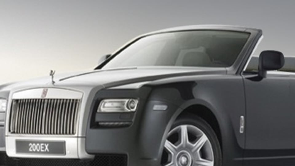 Rolls Royce 200EX 'Baby' To Lead Into Coupe And Convertible Variants?