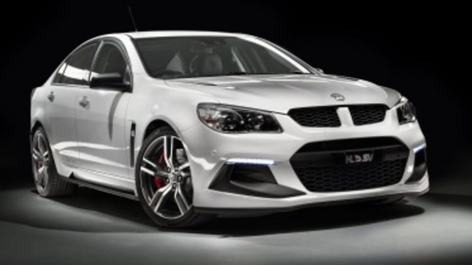HSV's 400kW Clubsport R8 revealed