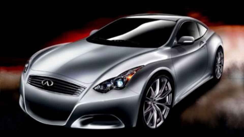 Infiniti compact coupe in the works?