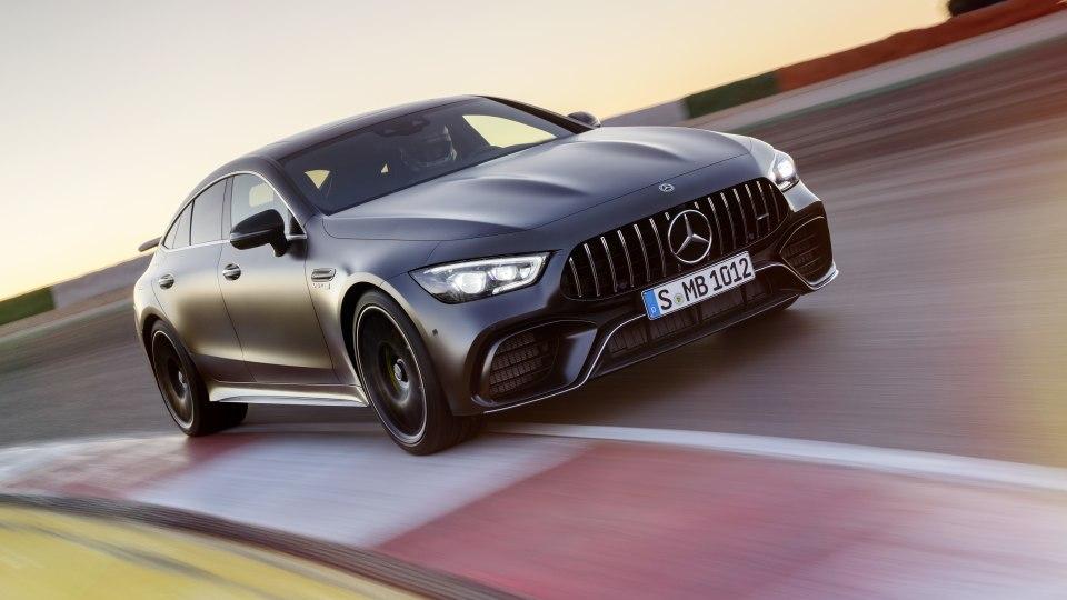 Mercedes-AMG GT 4-door to get hybrid superboost