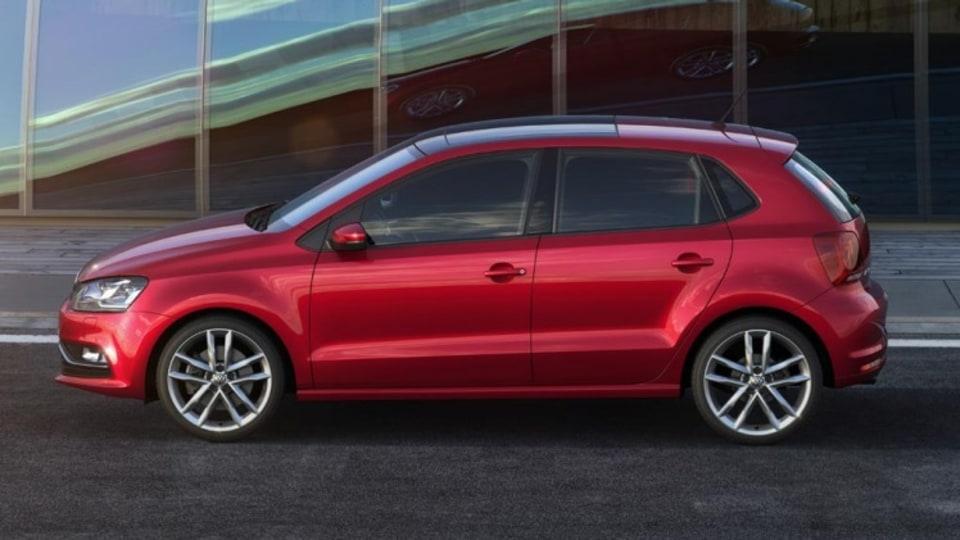 Volkswagen Polo facelift.