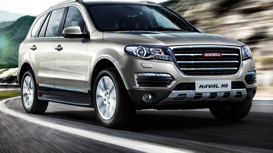 Haval H8 In Australia By December, Compact H2 And Large H9 To Follow