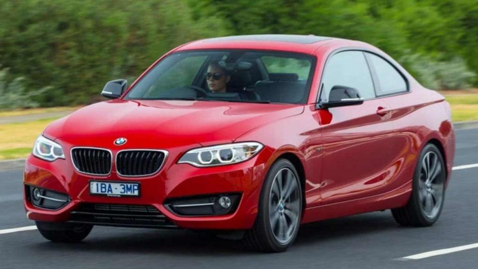 BMW 220i.
