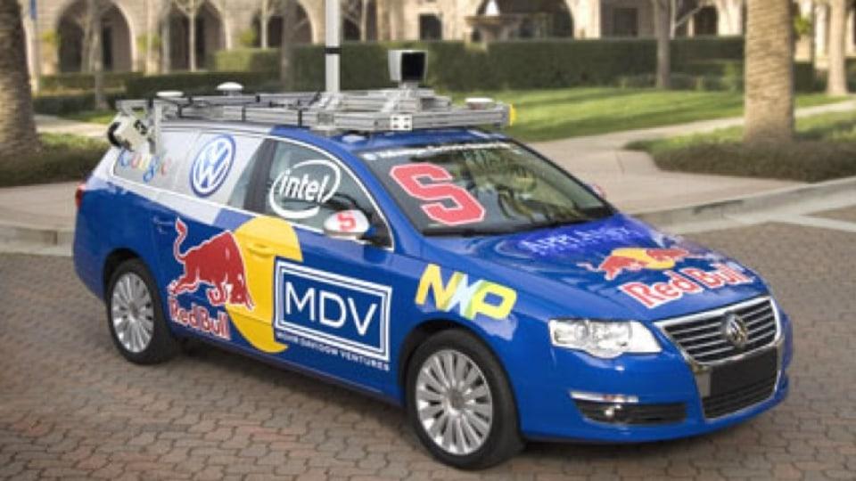 VW robot car
