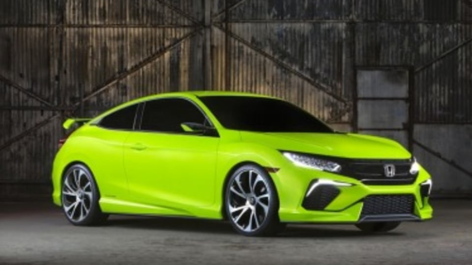 Honda debuts sporty Civic concept