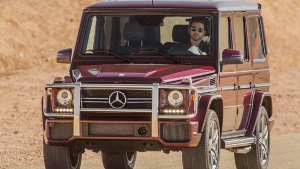 Mercedes-Benz G63 AMG.