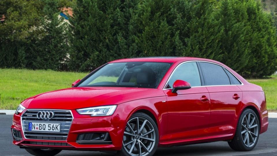 Audi A4 2.0 TFSI quattro.