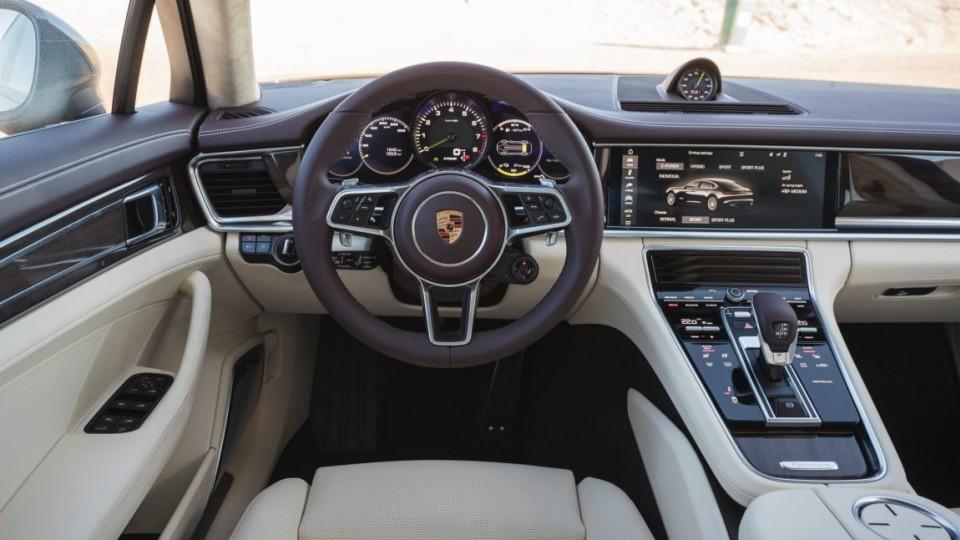 2017 Porsche Panamera 4 E-Hybrid.