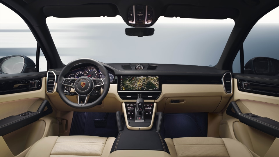 2018 Porsche Cayenne.