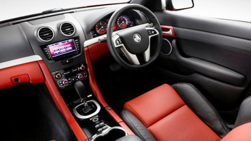 Holden Redline SSV interior.