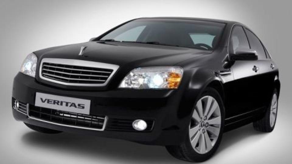 GM Daewoo Veritas - Holden's Latest Export Program