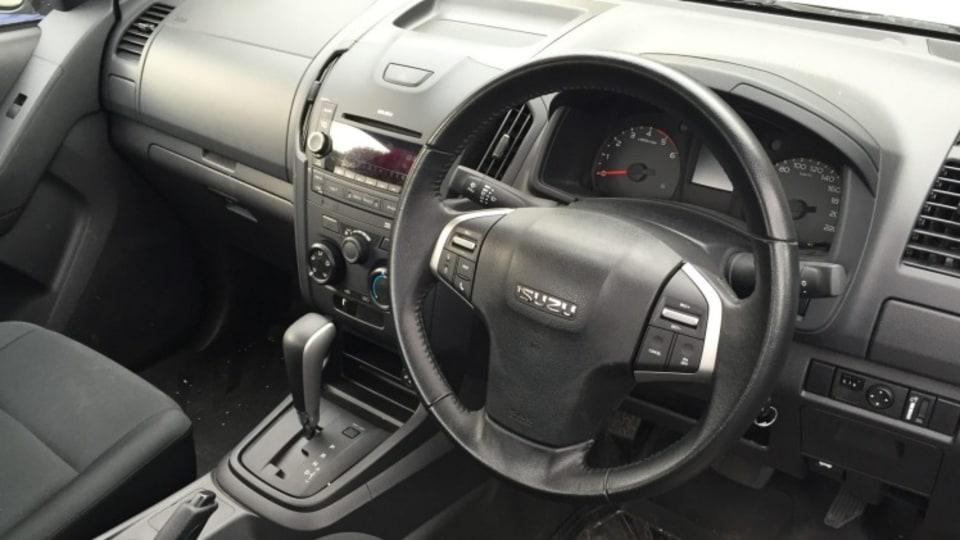 Isuzu D-Max 4x2 single cab.
